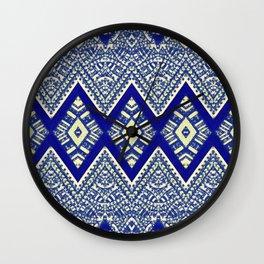 legzira in blue Wall Clock