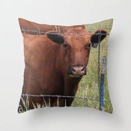 Milk Chocolate Throw Pillow