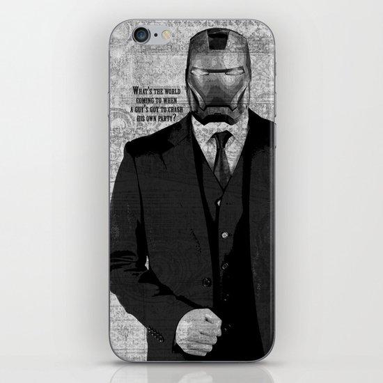Unreal Party Iron Man iPhone & iPod Skin