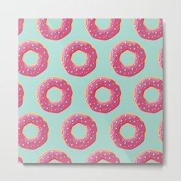 Donuts 001 Metal Print