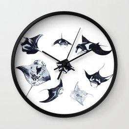 MANTARAYS Wall Clock