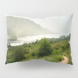 Scottish Highlands Landscape Panorama Pillow Sham