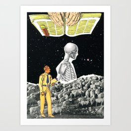 Stay Focused - Be True To Yourself Art Print