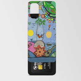 Man on a hamac Android Card Case