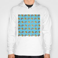 tigers Hoodies featuring Tigers by Nahal
