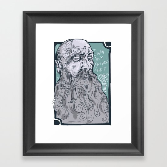 The Spirit Framed Art Print