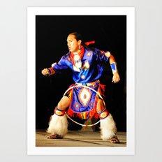 Hoop Dancer Art Print