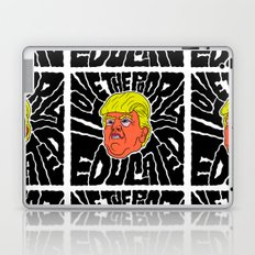 Trump loves the Poorly Educated Laptop & iPad Skin
