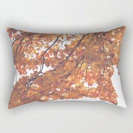 Yellow Fall Rectangular Pillow