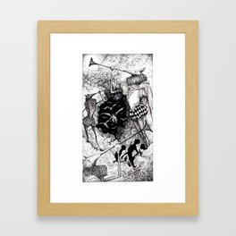 Tarot - The Judgement Framed Art Print