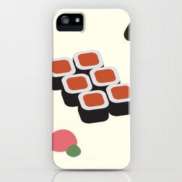 Spicy Tuna Roll iPhone Case