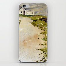 windswept coast iPhone & iPod Skin