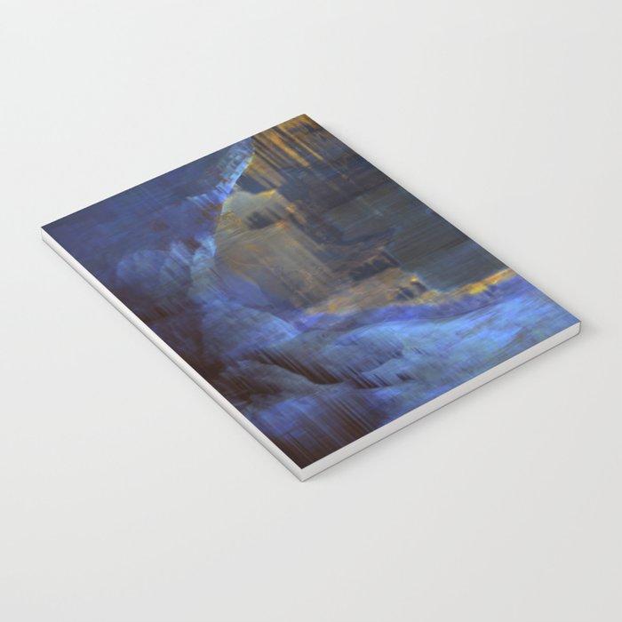 Cave 03 / The Interior Lake / wonderful world 10-11-16 Notebook