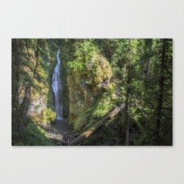 Pinard Falls Canvas Print