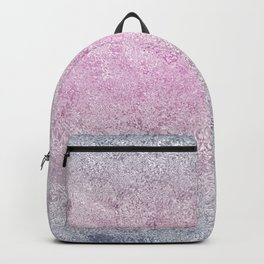 Textured Rainbow Opalescent Foil Backpack