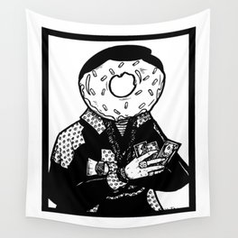 Thought I was a donut... Wall Tapestry