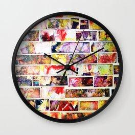 Colagem Wall Clock