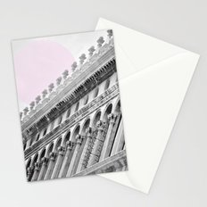 Venetian facade Stationery Cards