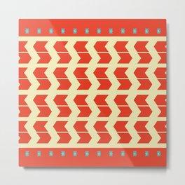 Pattern #12 Metal Print