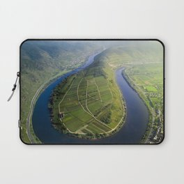 Incredible Mosel River Bend in Germany Laptop Sleeve