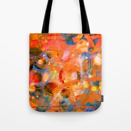 Obstacle Flying Tote Bag