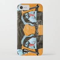 clint eastwood iPhone & iPod Cases featuring Clint Eastwood by Eduardo Guima