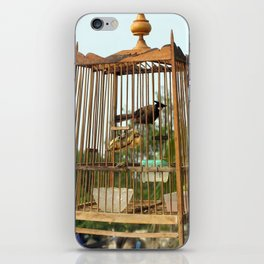 caged in iPhone Skin