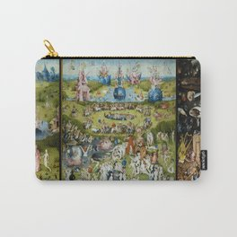 The Garden of Earthly Delights by Hieronymus Bosch (1490-1510) Carry-All Pouch