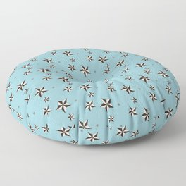 """Nifty 50's - """"Stars in your brains"""" Floor Pillow"""