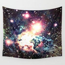 Fox Fur Nebula : Deep Pastels Galaxy Wall Tapestry