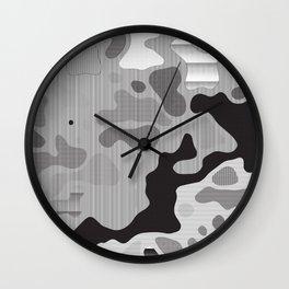 Camo 80 Wall Clock
