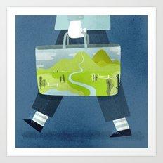 Dream Shopping Art Print