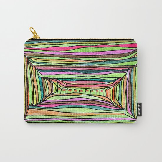 Boxy Bright Carry-All Pouch