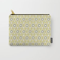 dots in green Carry-All Pouch