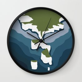 The White Cliffs of Dover, England Wall Clock