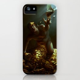 The Hunger of Midas iPhone Case