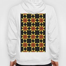 Golden Flower Of Missiles Hoody