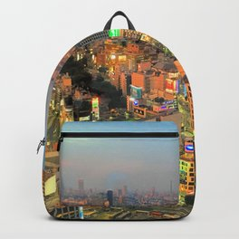 Shibuya, Tokyo, Japan Backpack