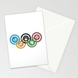 Zombie rings! Stationery Cards