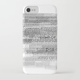 Names of God iPhone Case