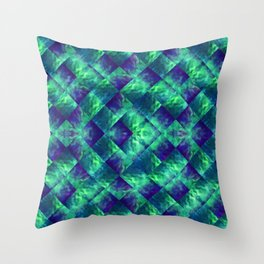 d47: wave deconstruct Throw Pillow