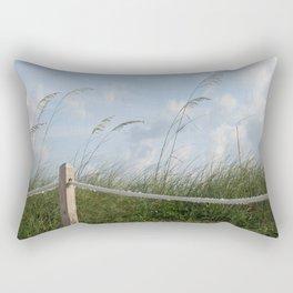Sea Oat Garden Rectangular Pillow