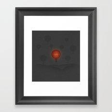 Peace at 10,000 Feet Framed Art Print