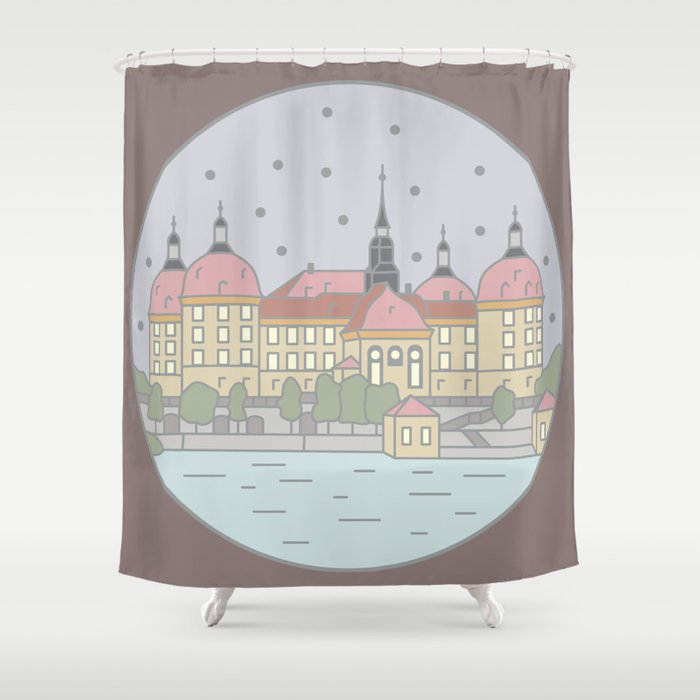 87 Cinderella Shower Curtain