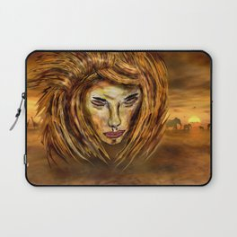 The King of Africa Laptop Sleeve