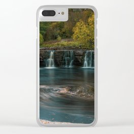 Whirlpool. Clear iPhone Case