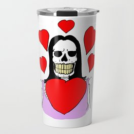 Valentina Moonguts Died For Love Travel Mug