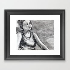 Caring Framed Art Print