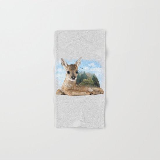 Baby Roe Deer Hand & Bath Towel