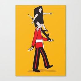 Royal Guides Canvas Print